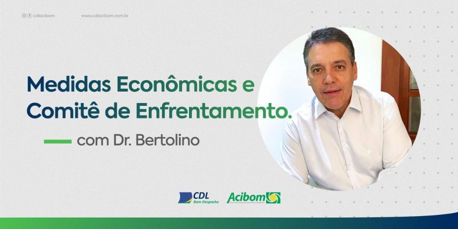 Assista vídeo do Prefeito Dr. Bertolino sobre situação do Município em relação á COVID-19