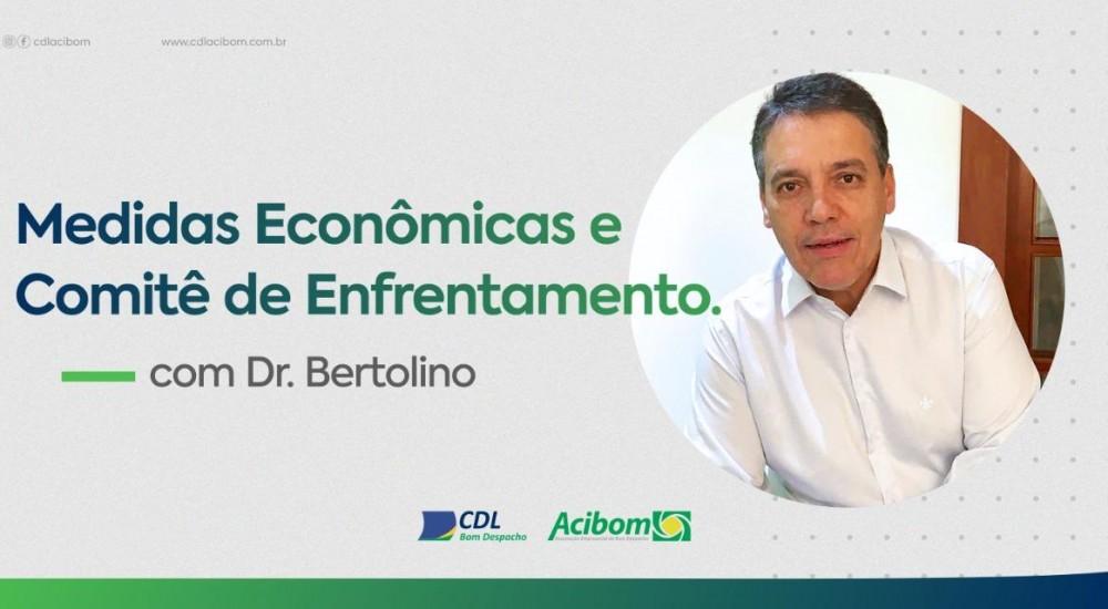 [Assista vídeo do Prefeito Dr. Bertolino sobre situação do Município em relação á COVID-19]